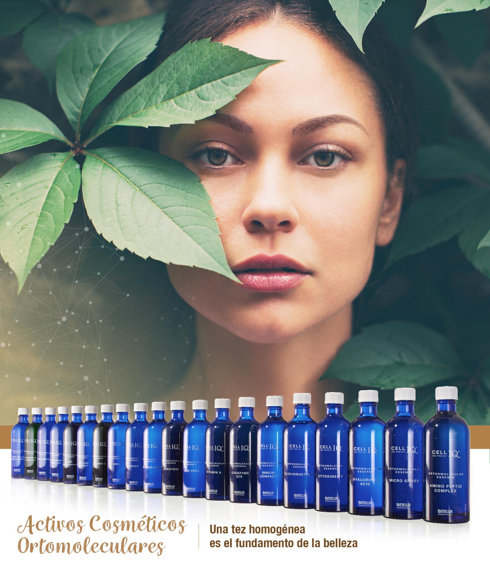 Cell IQ activos cosméticos ortomoleculares belium medical gijon piel rejuvenecimiento belleza natural