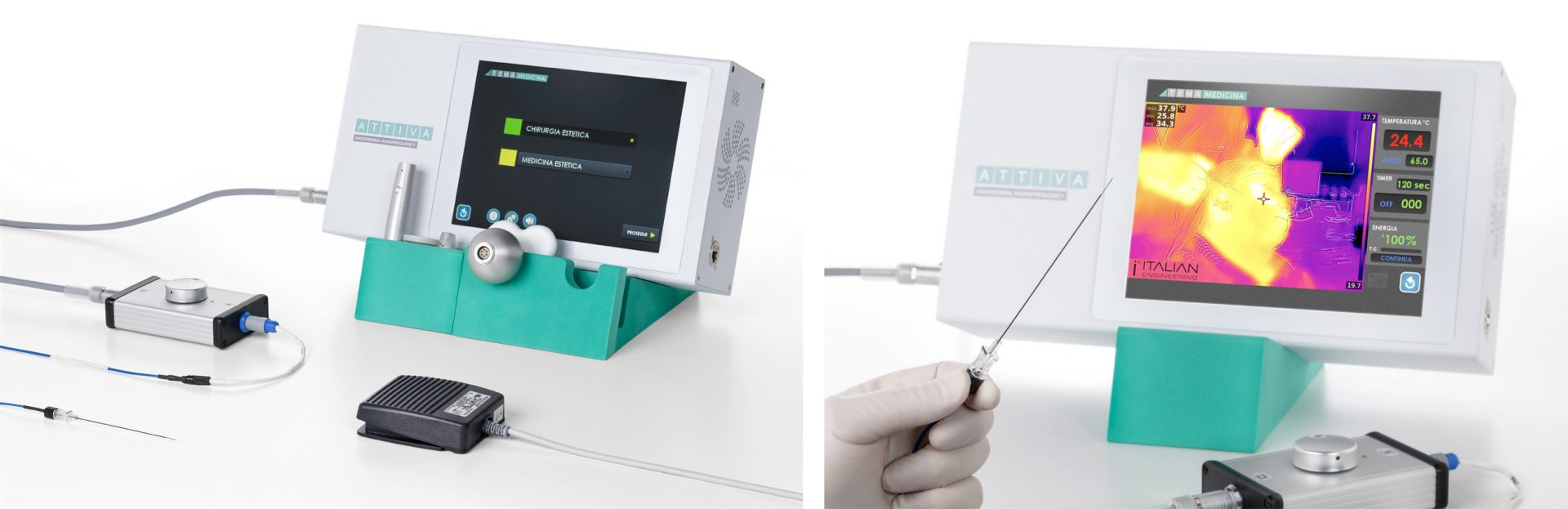 attivarf agujas radiofrecuencia endodérmica combate el envejecimiento, flacidez, grasa, celulitis. Belium Medical distribuidor oficial españa