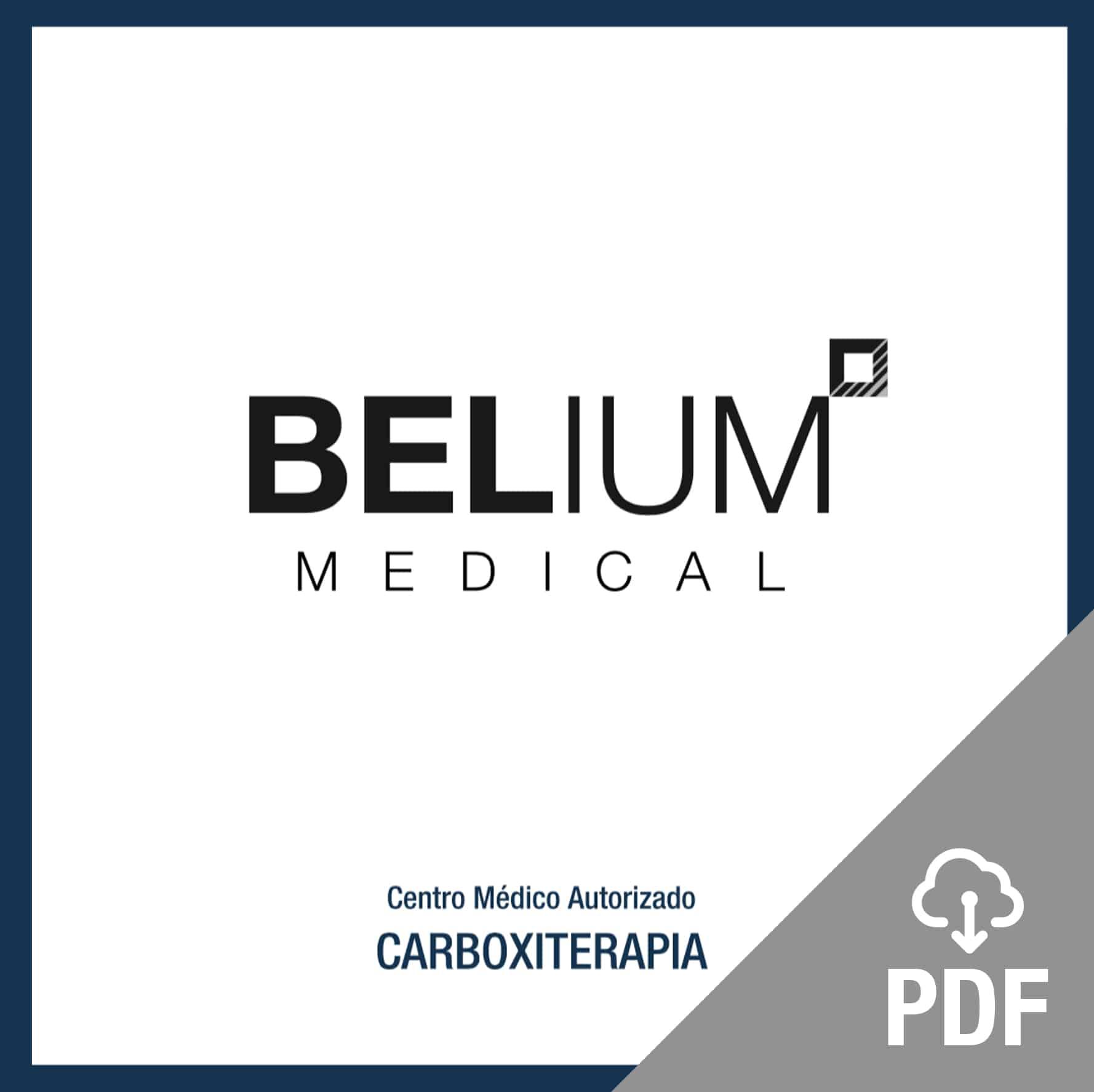 pdf carboxiterapia carbomed dióxido de carbono medicinal (CO2) microinyecciones ojeras, cicatrices, celulitis, flacidez. Belium Medical distribuidor oficial españa