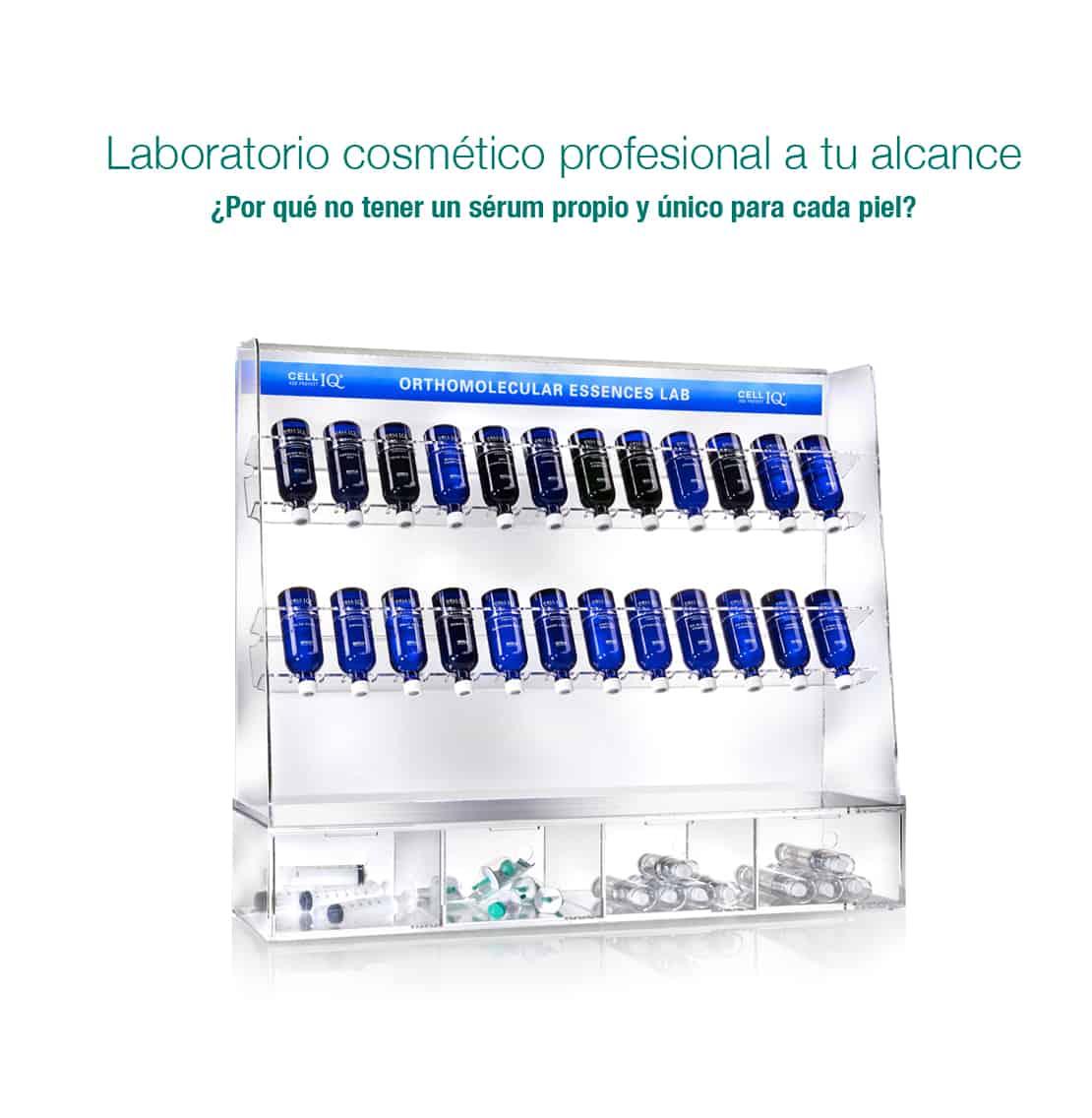 Cell IQ laboratorio activos cosméticos ortomoleculares belium medical gijon piel rejuvenecimiento belleza