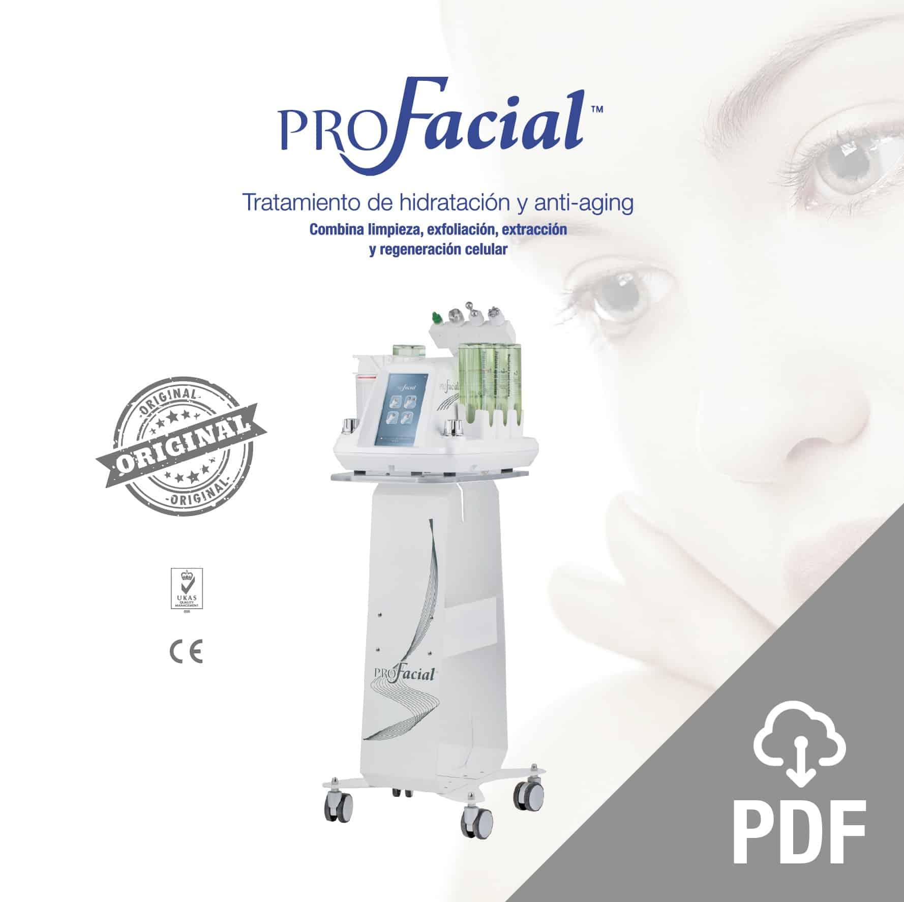 profacial pdf 3 original Aqua Peeling, Ion Lifting, radiofrecuencia y Ultrasonidos. belium medical distribuidor españa. Limpieza facial profunda, rejuvenecimiento, antiarrugas, producción de colágeno
