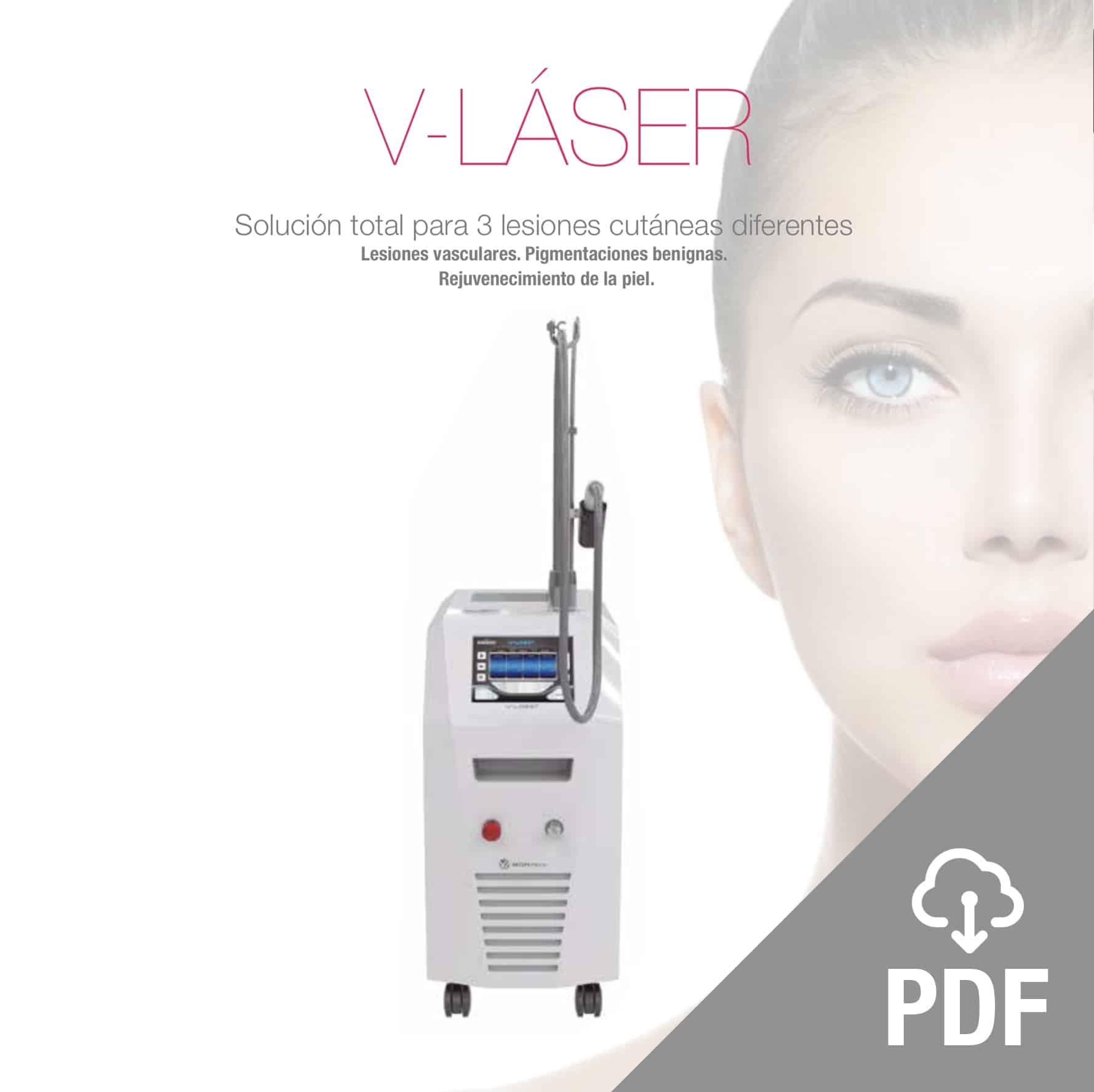v-laser pdf lesiones vasculares, pigmentarias y rejuvenecimiento génesis, varices. Belium Medical distribuidor oficial españa
