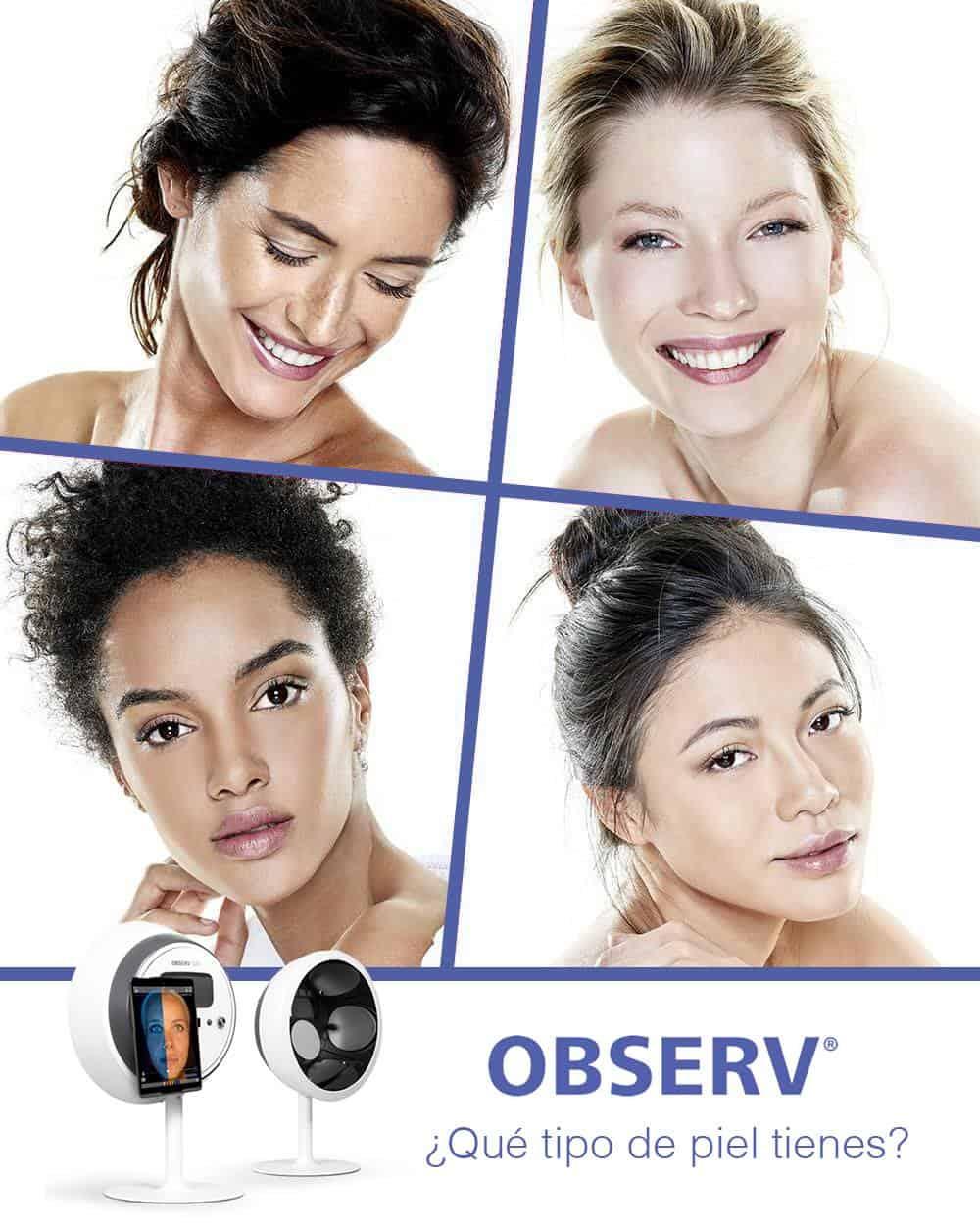 observ sylton analizador facial observ520 diagnóstico piel rejuvenecimiento luz acne manchas vascular estetica facial belleza belium medical distribuidor oficial españa