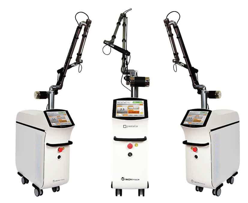 PASTELLE laser eliminación de tatuajes y pigmentacion belium medical FDA