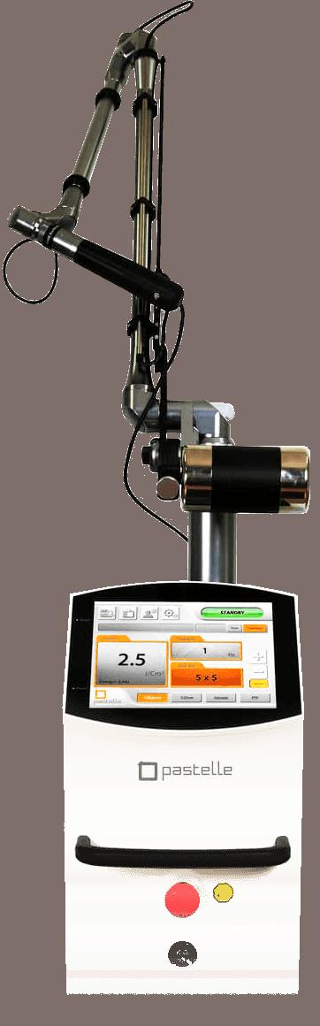PASTELLE equipo laser eliminación de tatuajes y pigmentacion belium medical FDA
