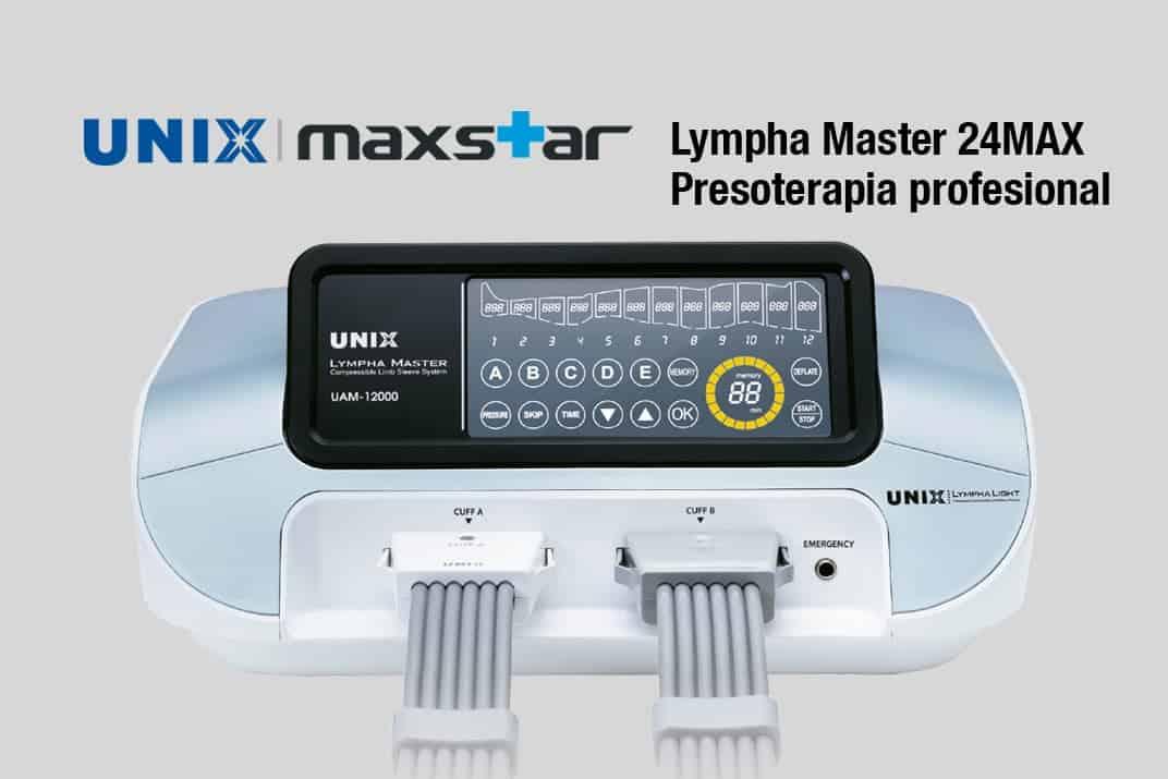 presoterapia profesional lympha master, unix maxstar circulación, celulitis. Belium medical distribuidor españa