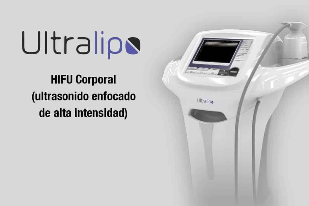 ultralipo remodelado corporal HIFU ultrasonidos descompone grasa subcutánea. Belium Medical distribuidor oficial españa