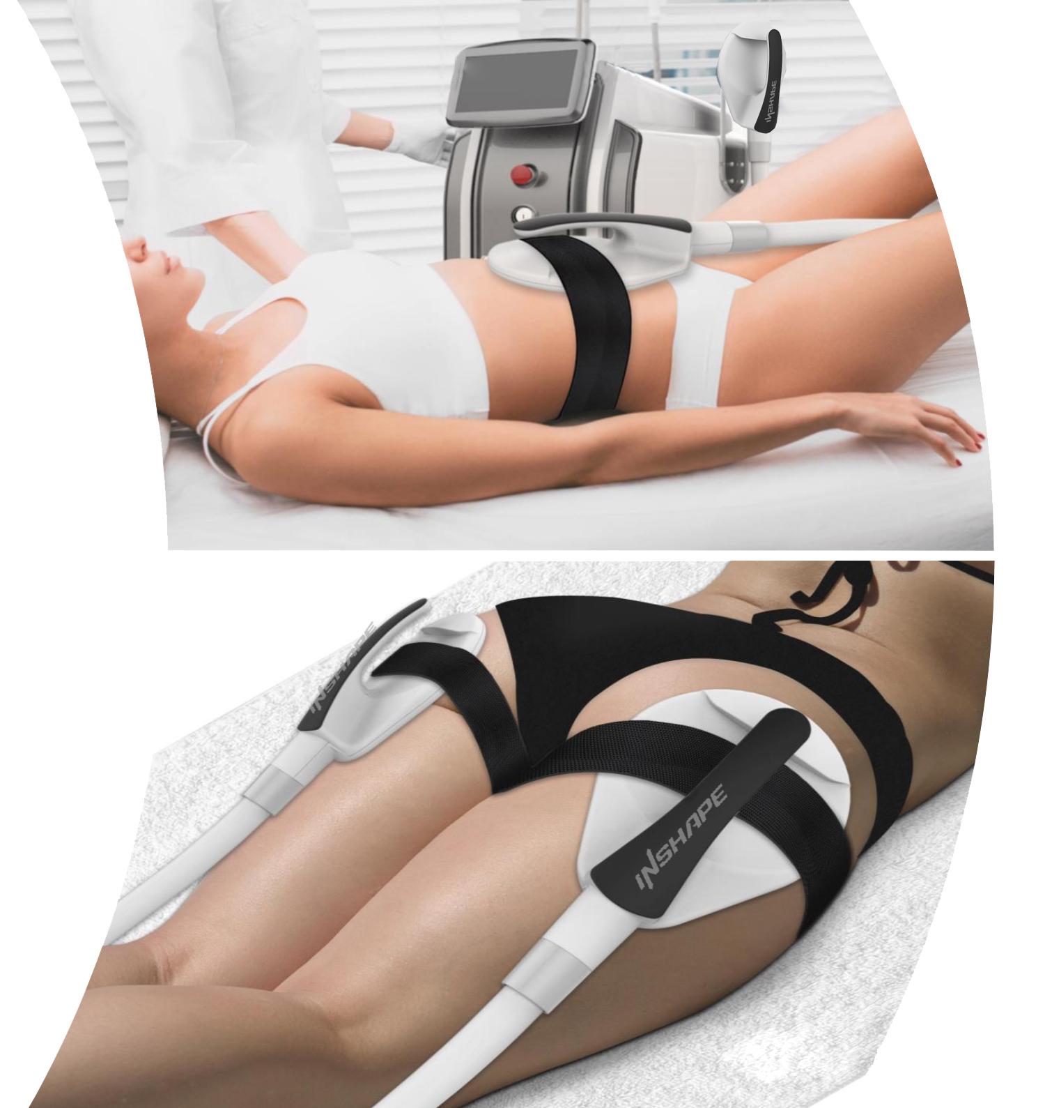 INSHAPE nueva generación de dispositivos para modelar el cuerpo. tecnología inteligente de entrenamiento muscular automático