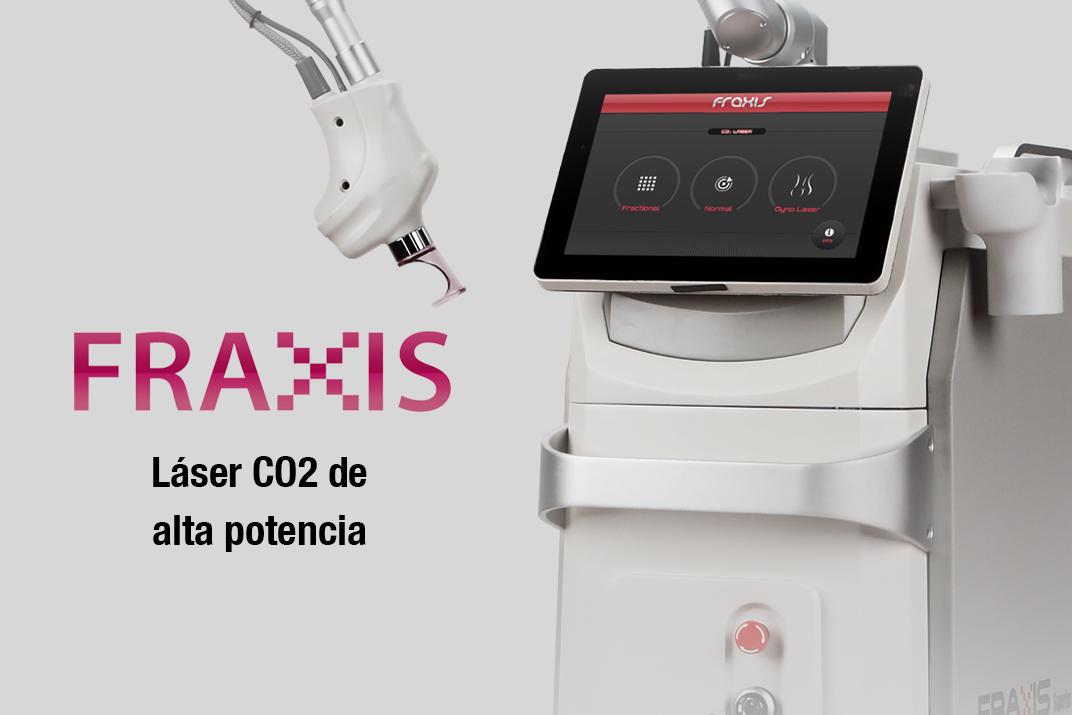 fraxis, laser, co2, radiofrecuencia, fraccional, micro-aguja, cicatrices, belium, medical, aparatología