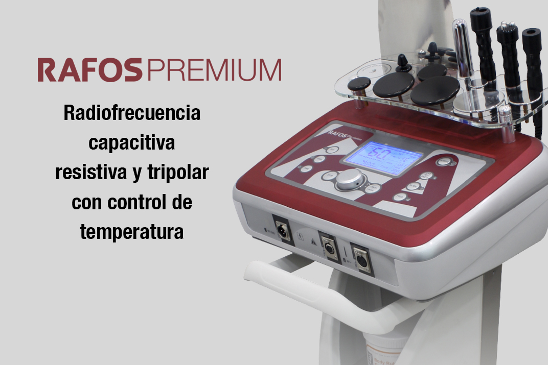 rafos premium equipo radiofrecuencia capacitiva, resistiva y tripolar. Belium Medical