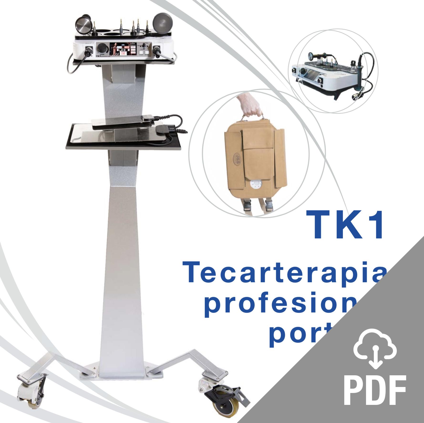 tk1 tecarterapia para fisioterapia permite la selección de formas de ondas y frecuencias, lo que hace que el aparato sea el más versátil del mercado.