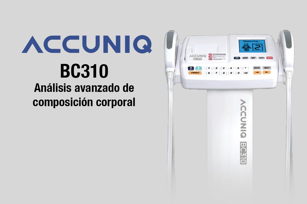 ACCUNIQ bc310 bascula de composicion corporal