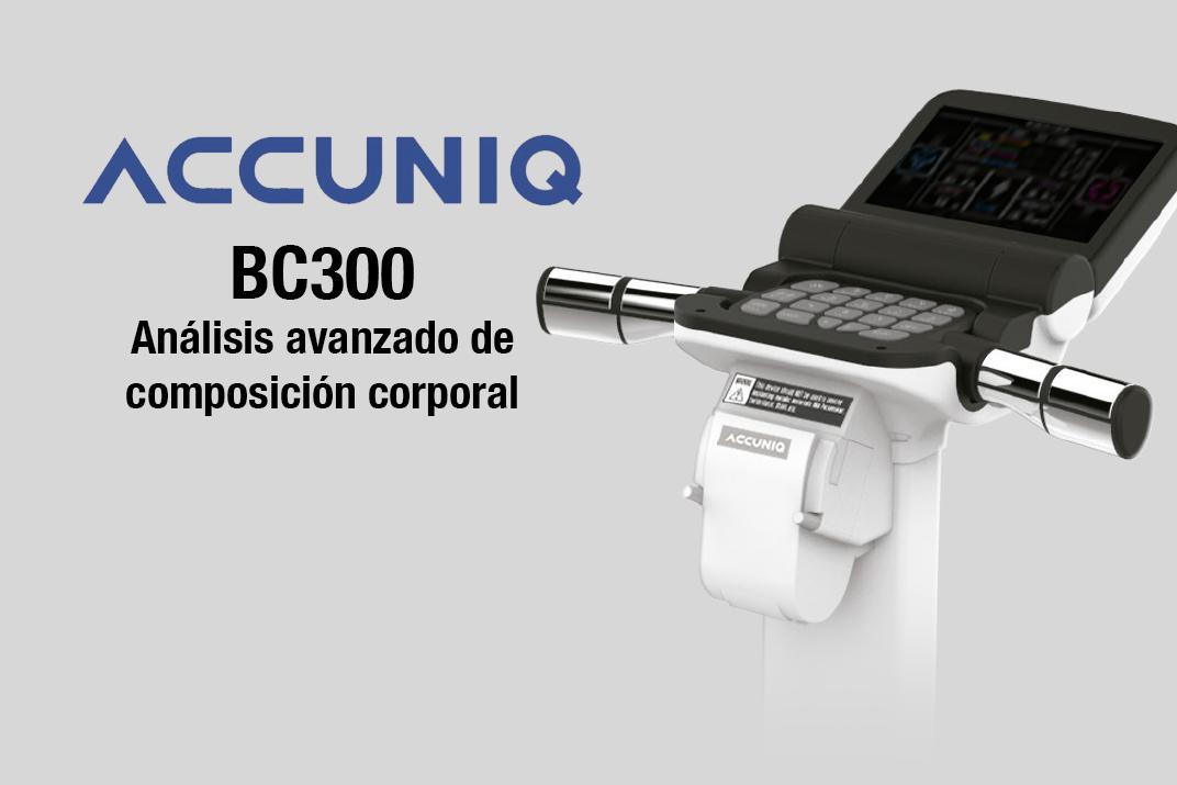 accuniq bc300 bascula de composicion corporal