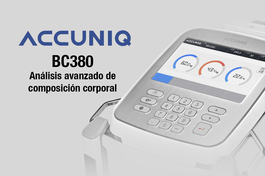 accuniq bc380 bascula de composicion corporal